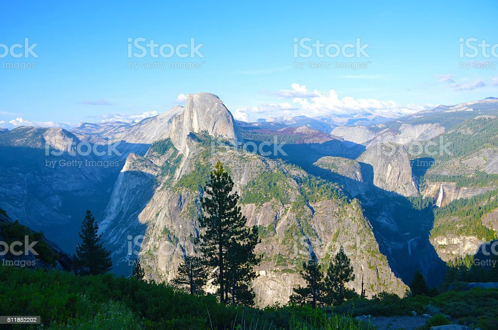 Glacier Point, Yosemite National Park stock photo