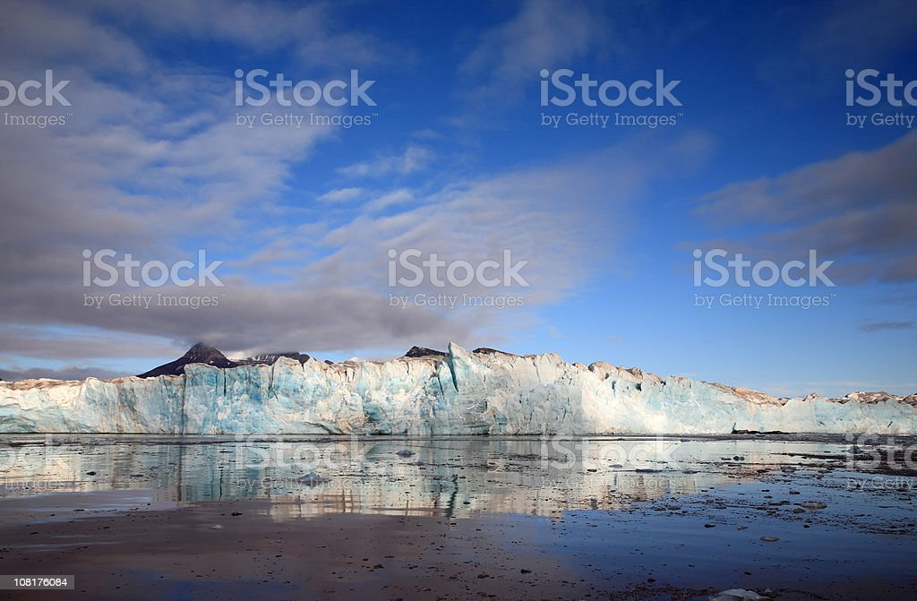 Glacier Reflections royalty-free stock photo