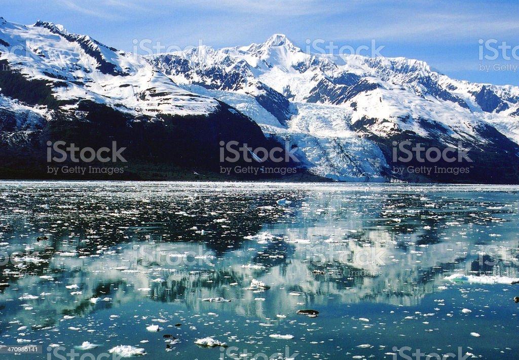 Glacier Reflections royalty-free stock photo
