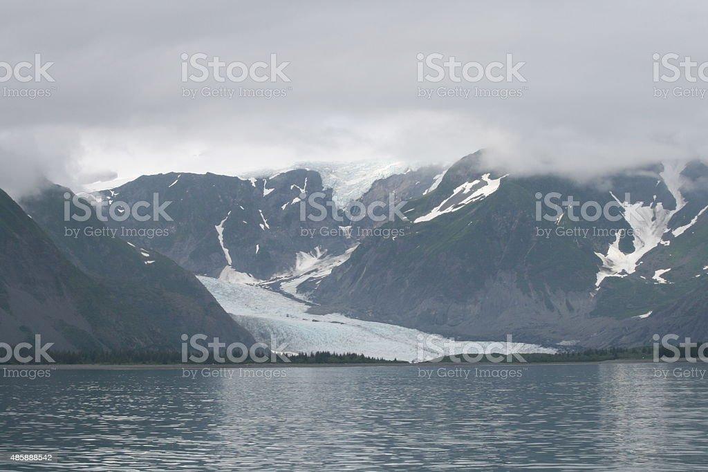 Glacier Slide stock photo