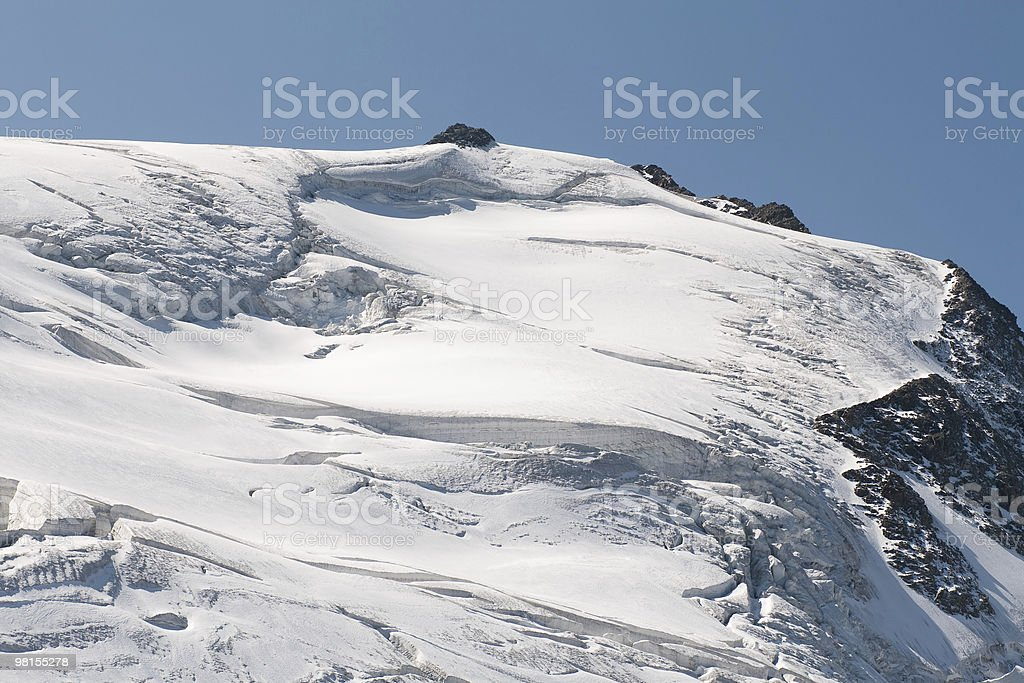 Glacier Steigletscher royalty-free stock photo
