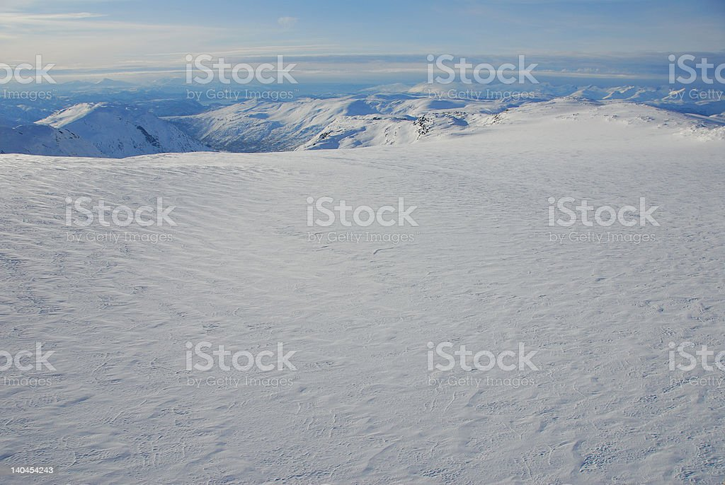 Glacier top stock photo