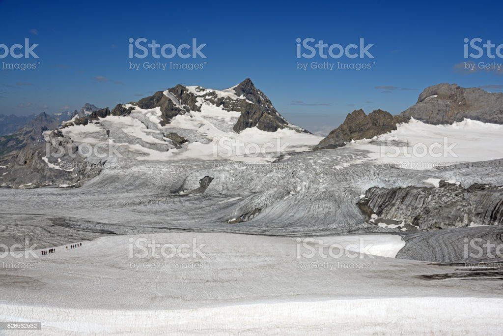 Glacier Tour stock photo
