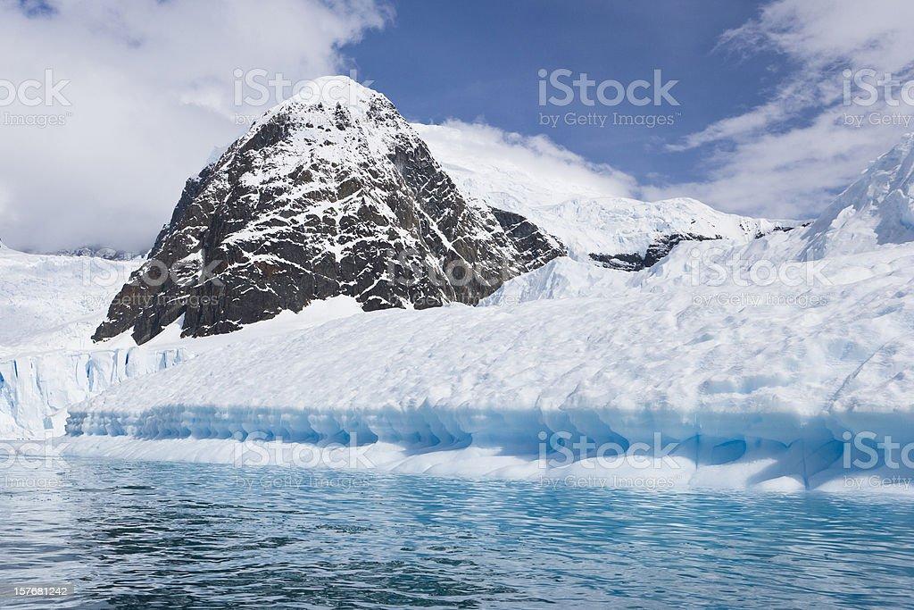 Glacier's Edge royalty-free stock photo