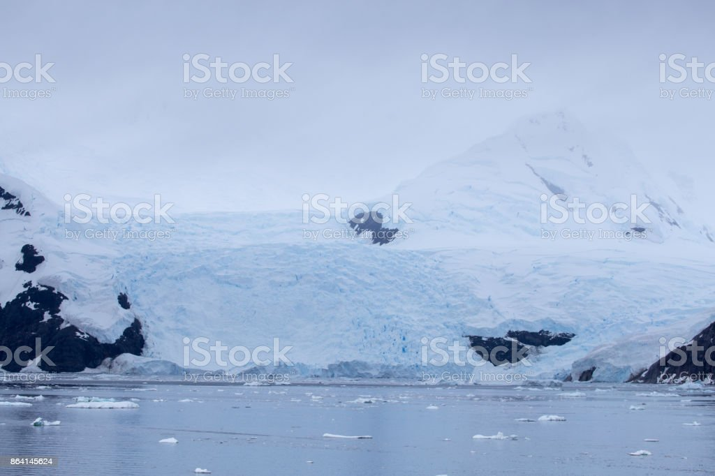 Glaciers, Neko Harbour, Antartic Peninsula, Antarctic royalty-free stock photo