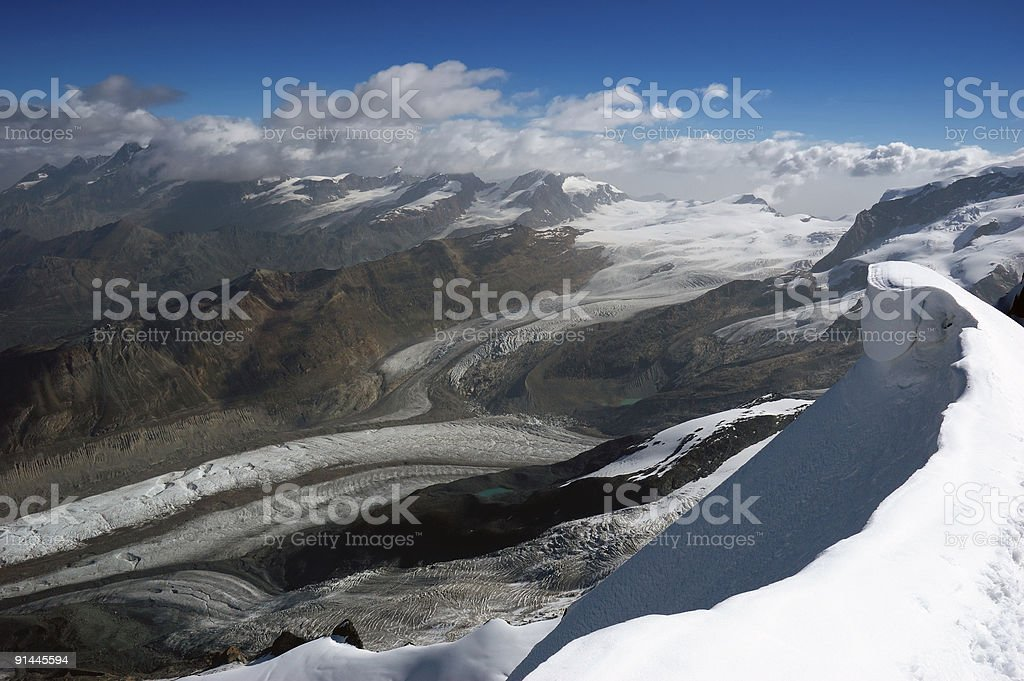 Glaciers royalty-free stock photo
