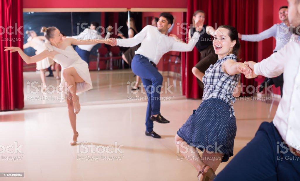 swing dance partners