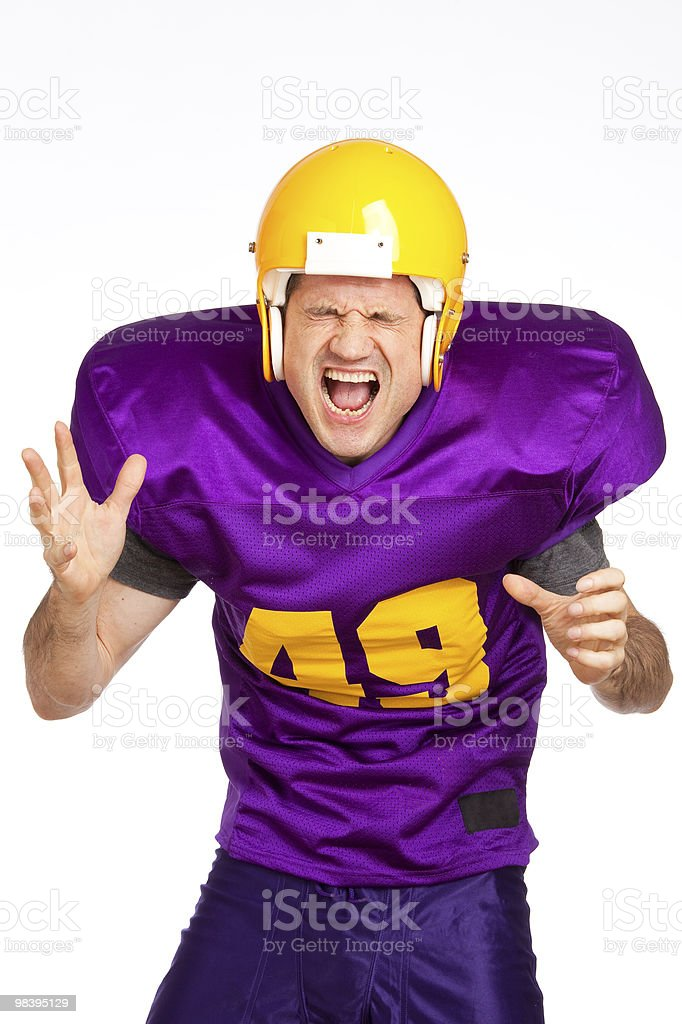 Glad Player royalty-free stock photo