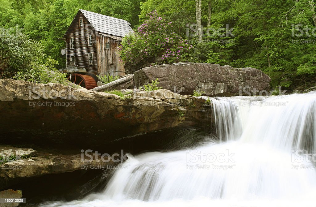 Photograph the Glade Creek Grist Mill, Danese, West Virginia