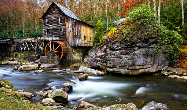 Glade Creek, Old Grist Mill, Babcock State Park, West Virginia
