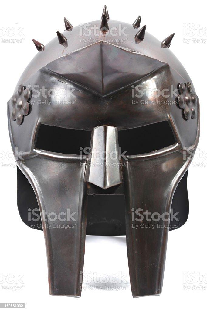 Gladiator Helmet royalty-free stock photo
