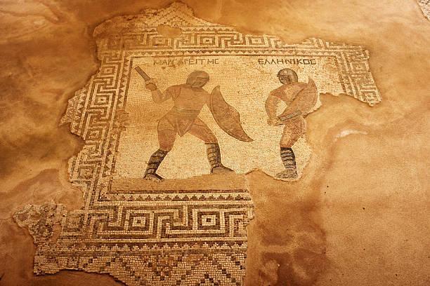 Gladiateurs mosaïque de Paphos - Photo