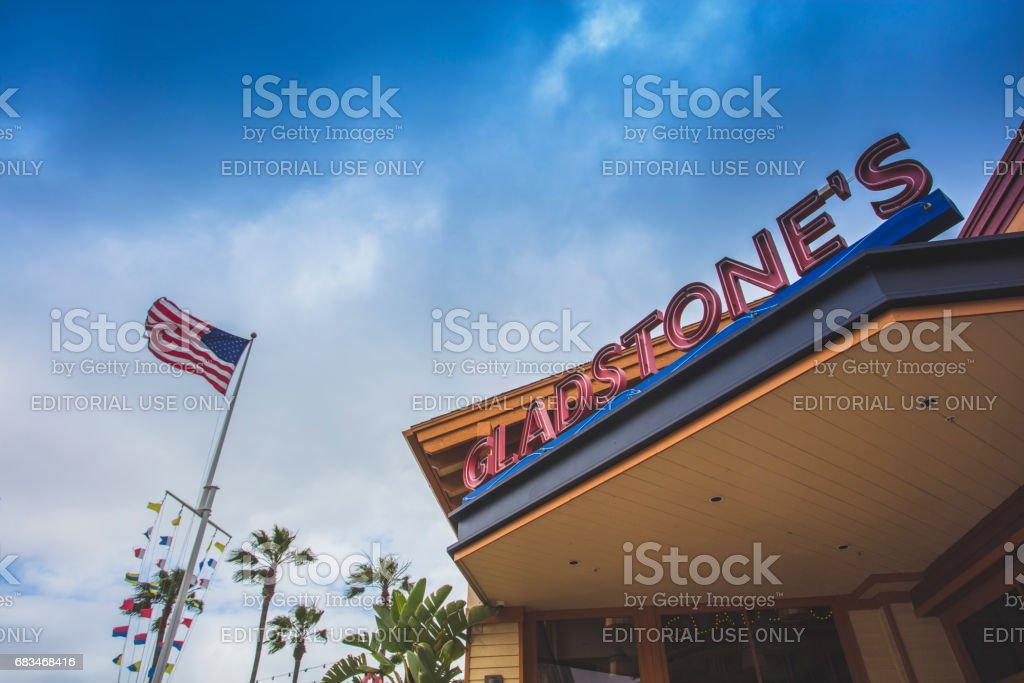 Gladstones Long Beach CA stock photo