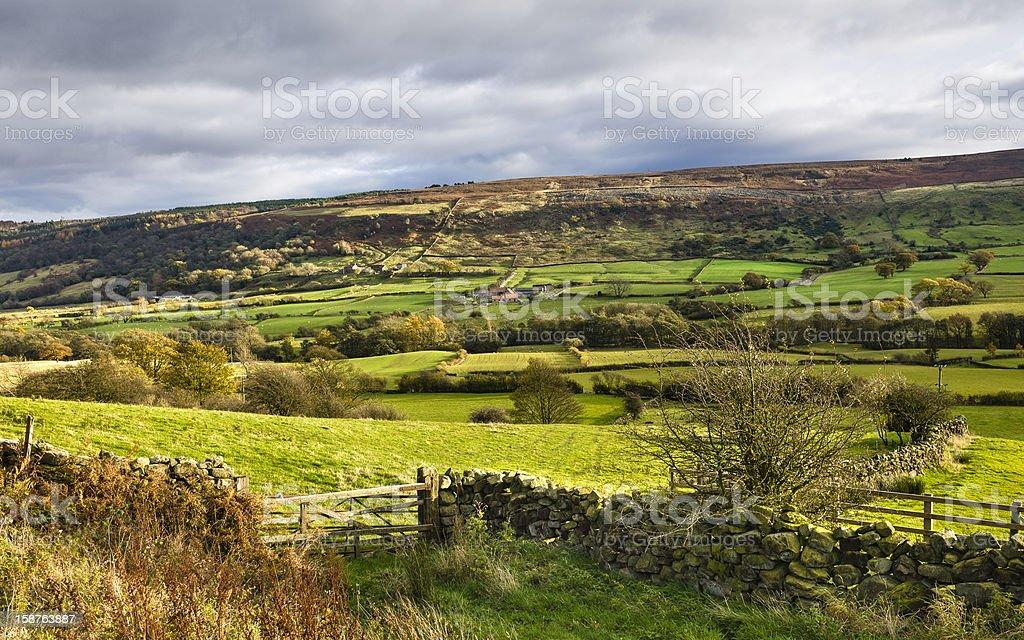 Glaisdale, North York Moors, Yorkshire, UK. royalty-free stock photo