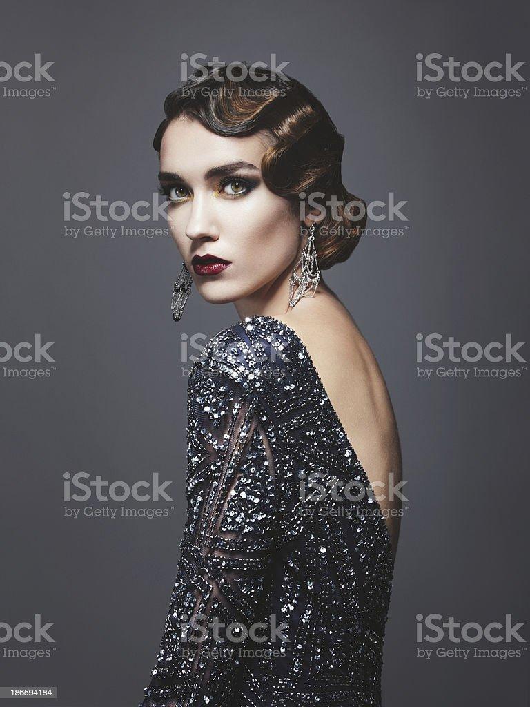 Glam retro-diva – Foto