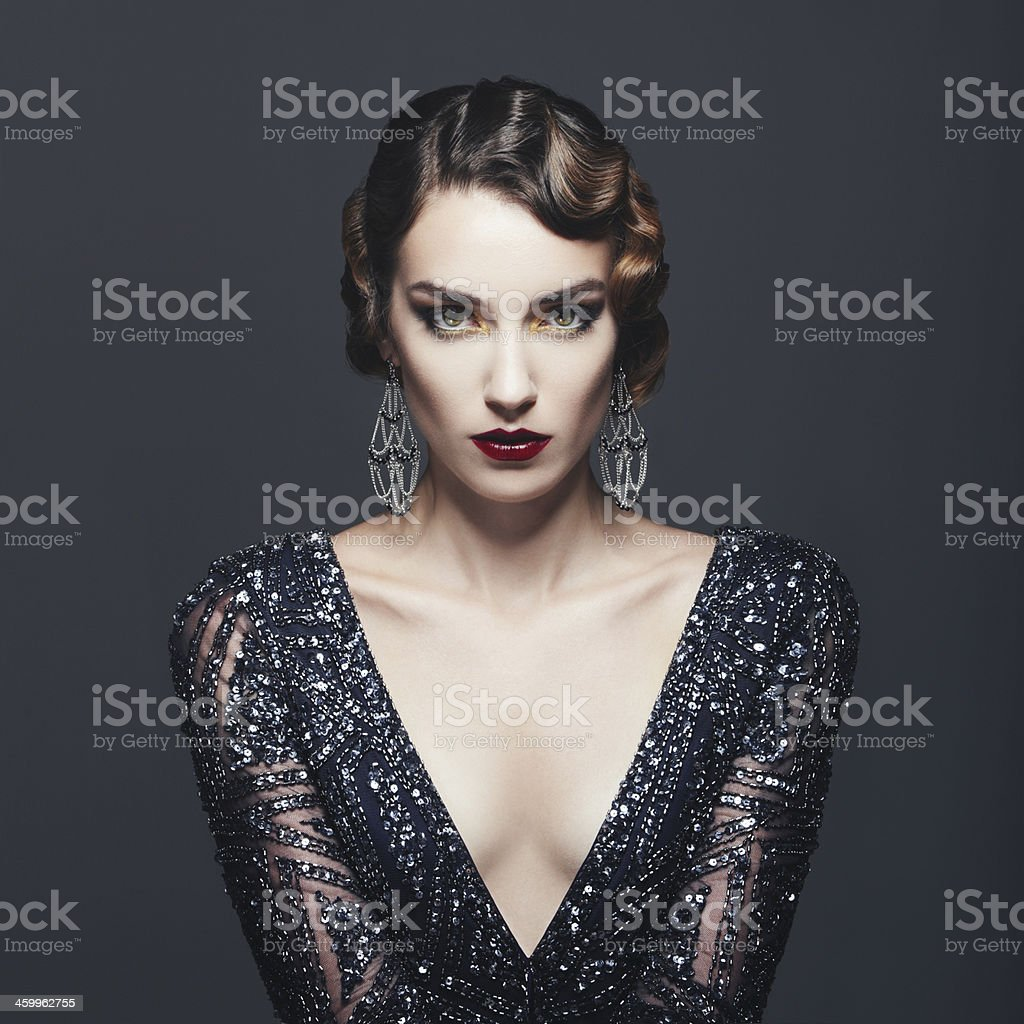 Glamour rétro diva - Photo
