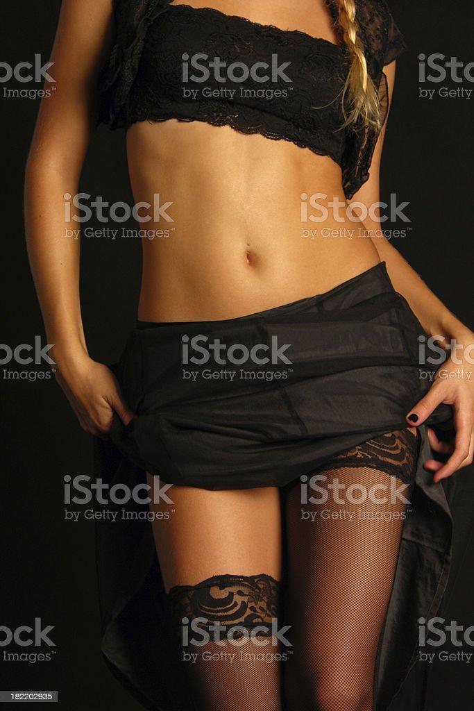 Chica glamour - foto de stock