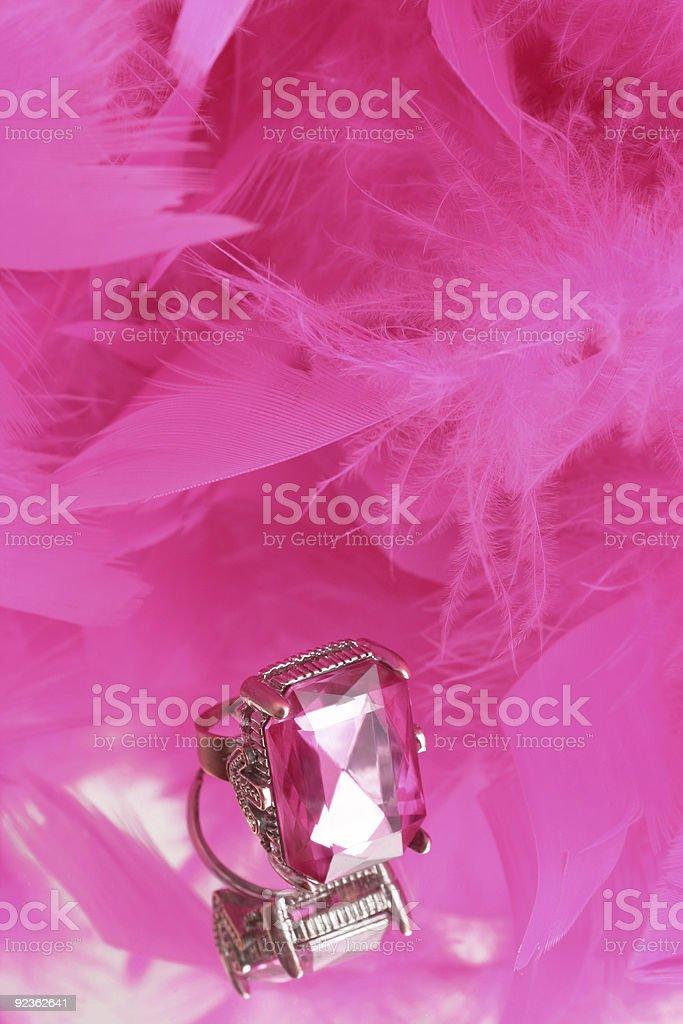 Glamouröse Diamanten Lizenzfreies stock-foto