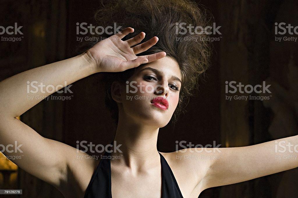 Glamorous Hispanic woman royalty-free 스톡 사진