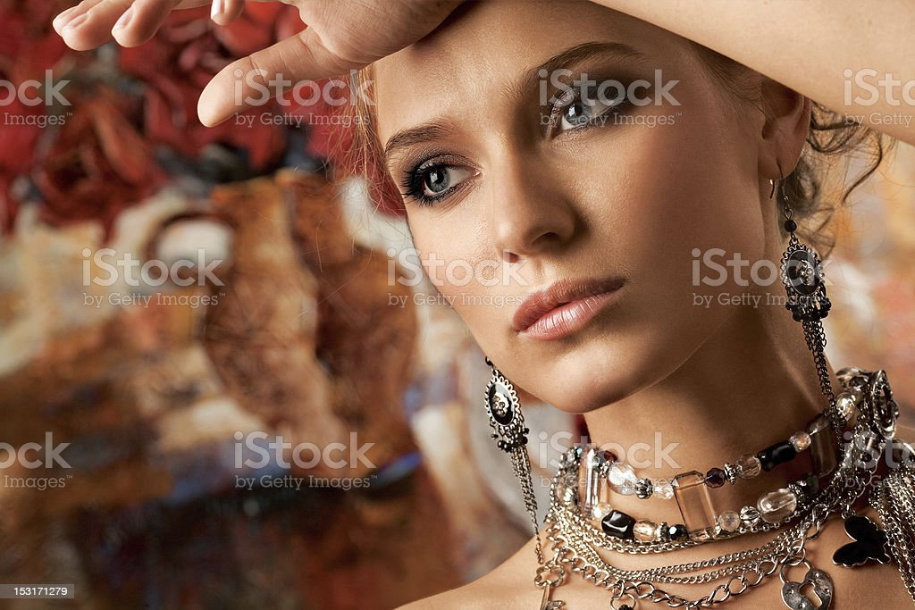 Glamorous. royalty-free stock photo