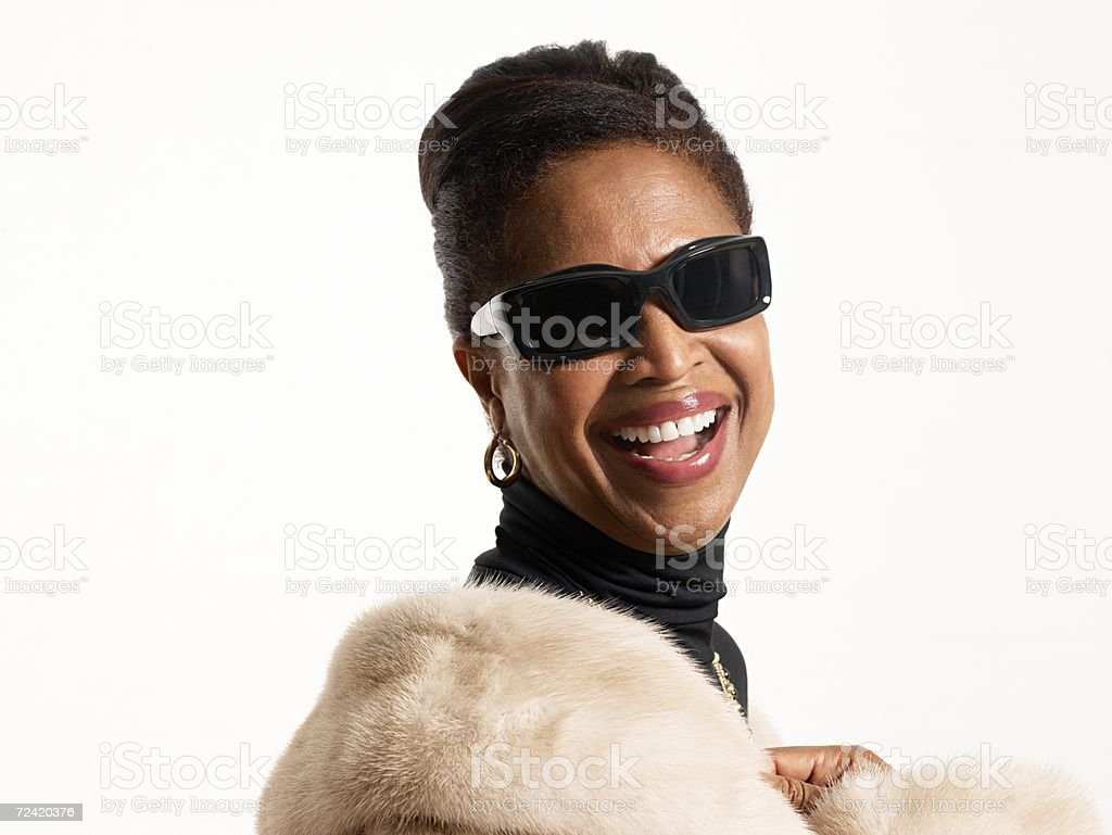 Glamorous woman royalty-free stock photo