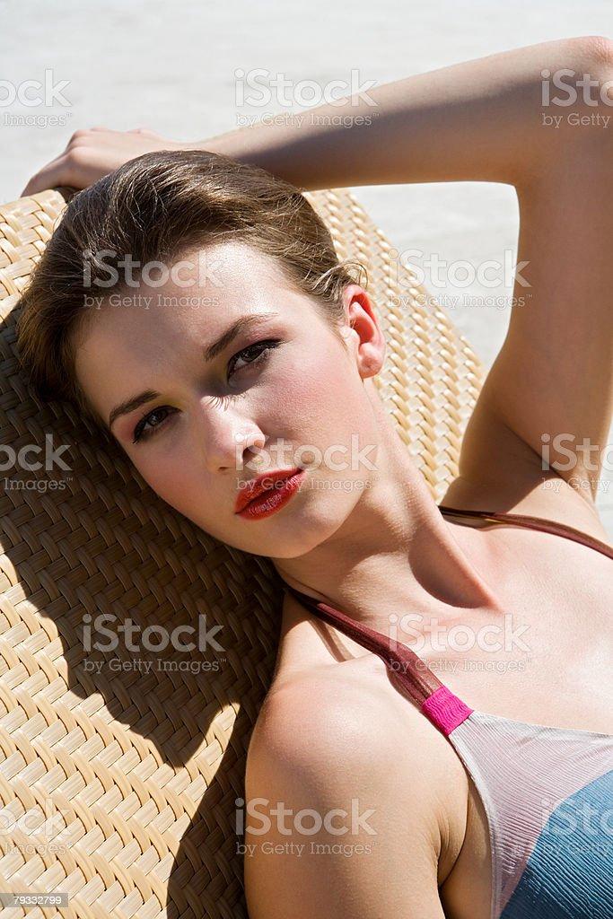 Glamouröse Frau Lizenzfreies stock-foto