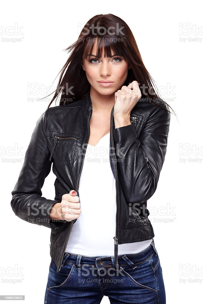 Glamorous young woman royalty-free stock photo