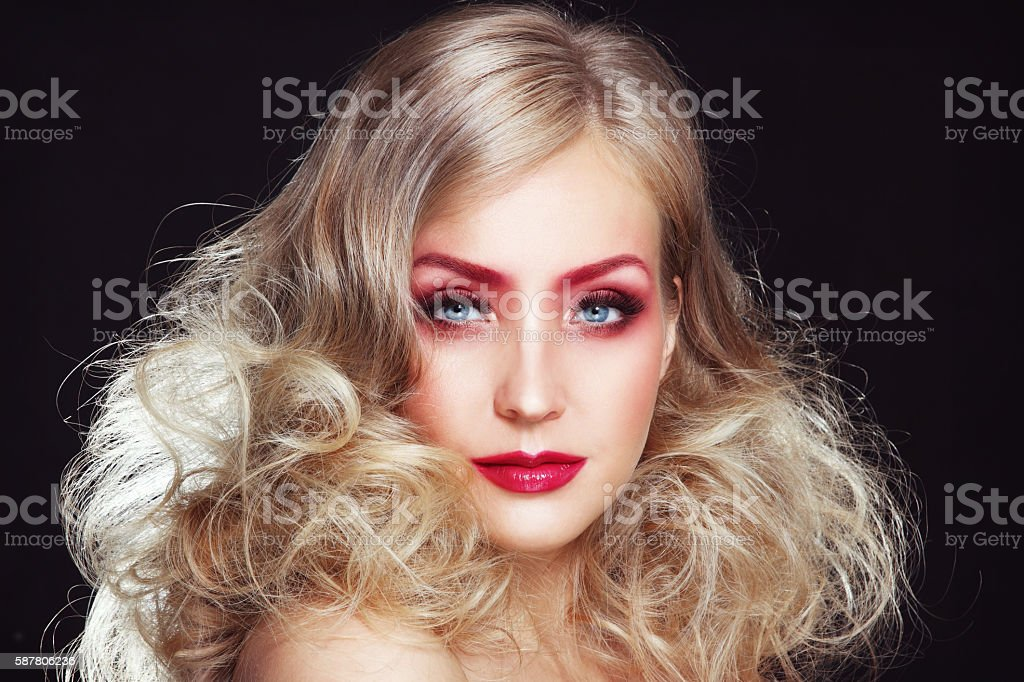 Glamour beauty stock photo