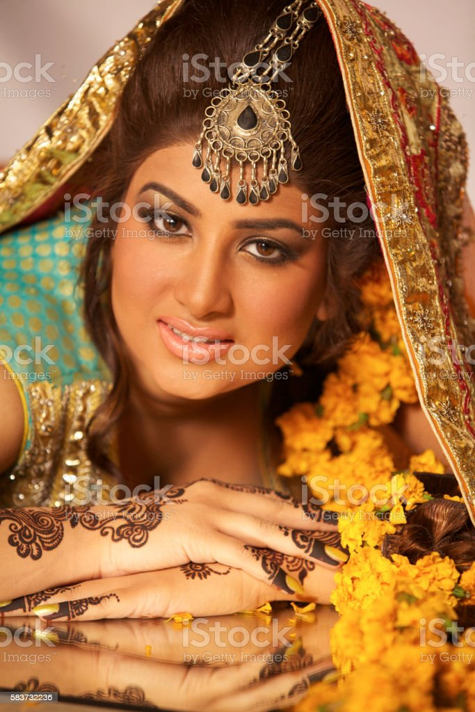 Glamour Bride Stock Photo & More Pictures of Arts Culture and