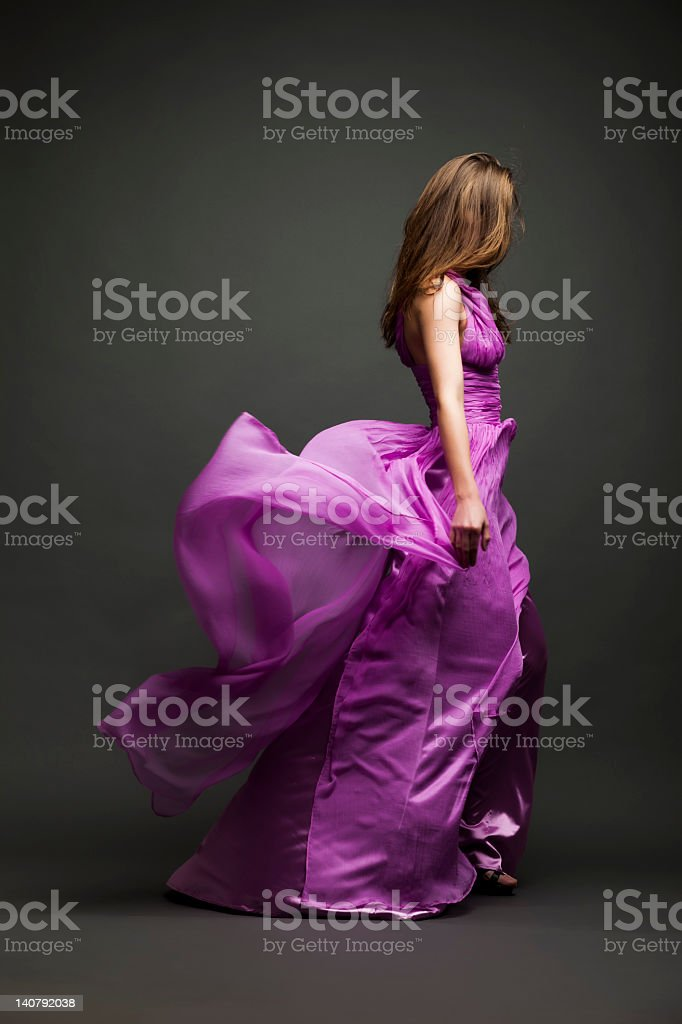 Glamour girl stock photo