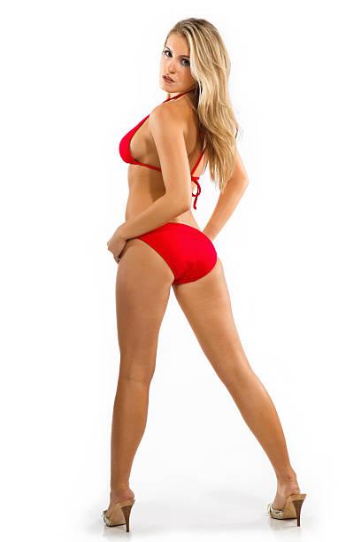Glamour Girls - Red Bikini Model