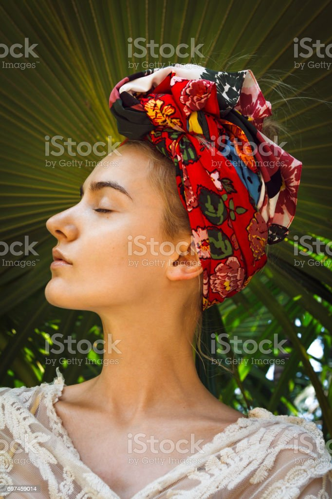 Glamour in the jungle stock photo