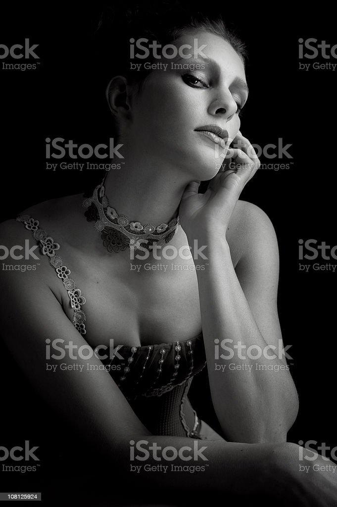 Glamour Model royalty-free stock photo