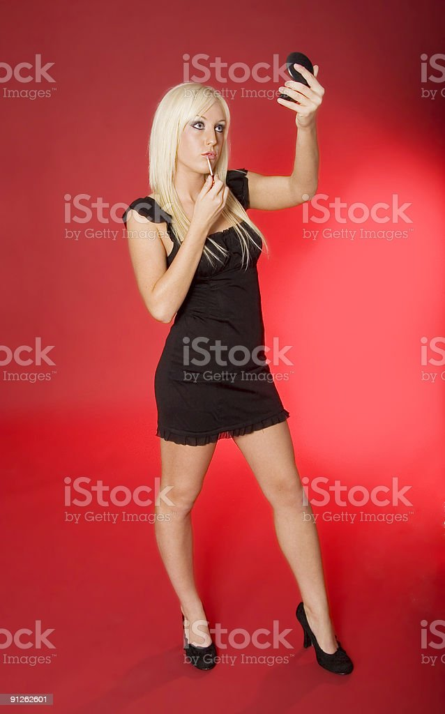 Glamour Model stock photo