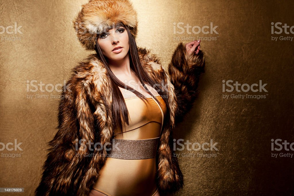 Glamour Party Girl royalty-free stock photo