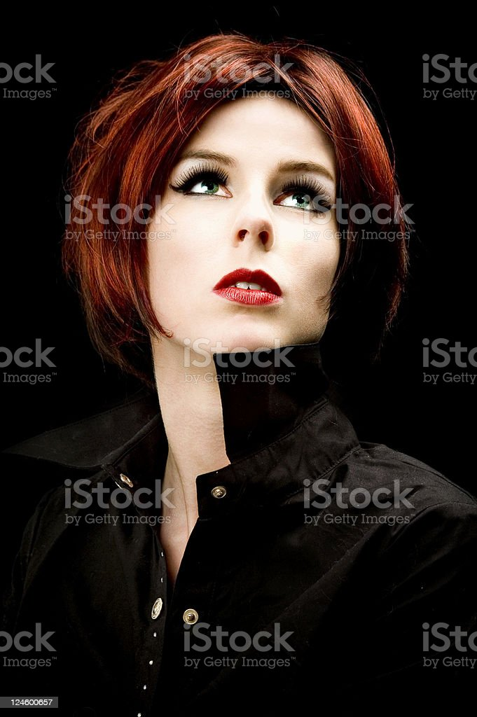 Glamour royalty-free stock photo