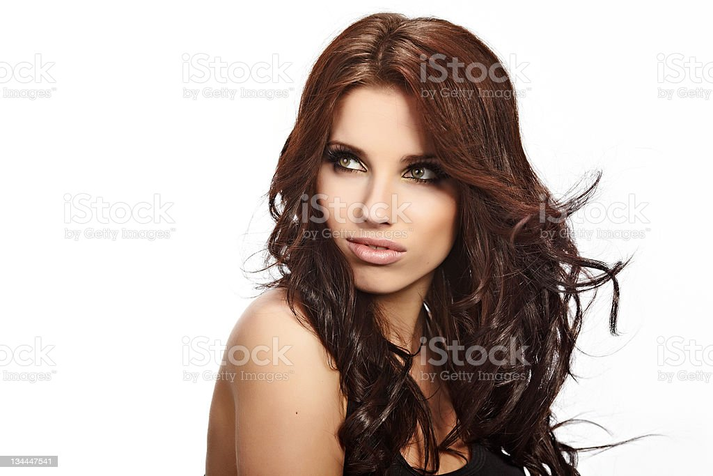 Glamour Portrait of sexy woman royalty-free stock photo