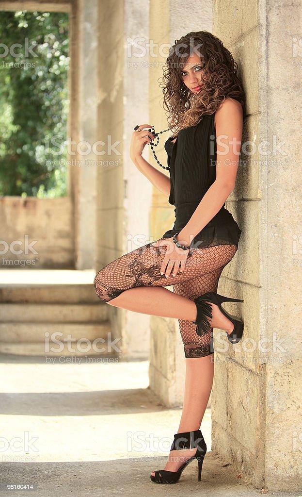 Glamour portrait royalty-free stock photo