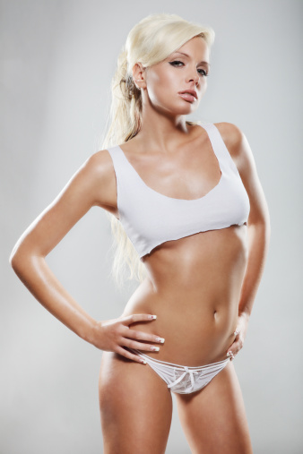 Glamourous Blonde Girl Stock Photo - Download Image Now