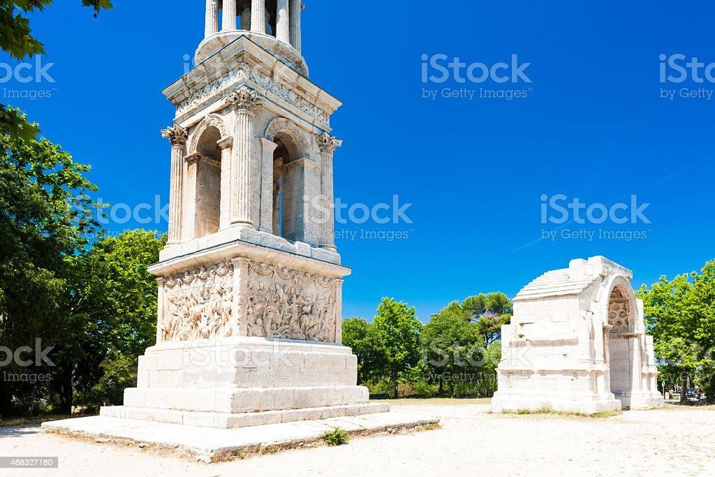 Glanum, Saint-Remy-de-Provence stock photo