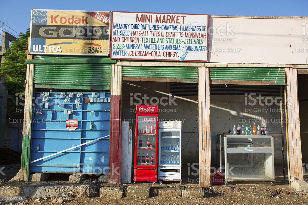 Glaobal brands in Luxor stock photo