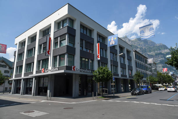 Glarner Kantonalbank stock photo