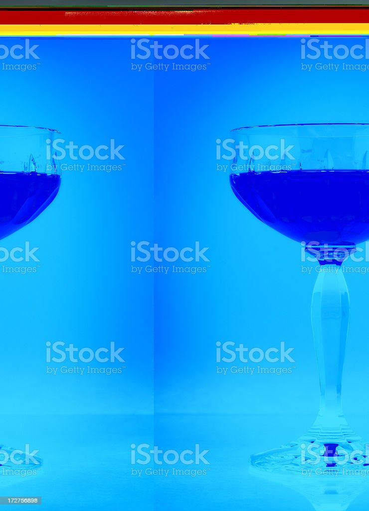 Glas of liqueur royalty-free stock photo