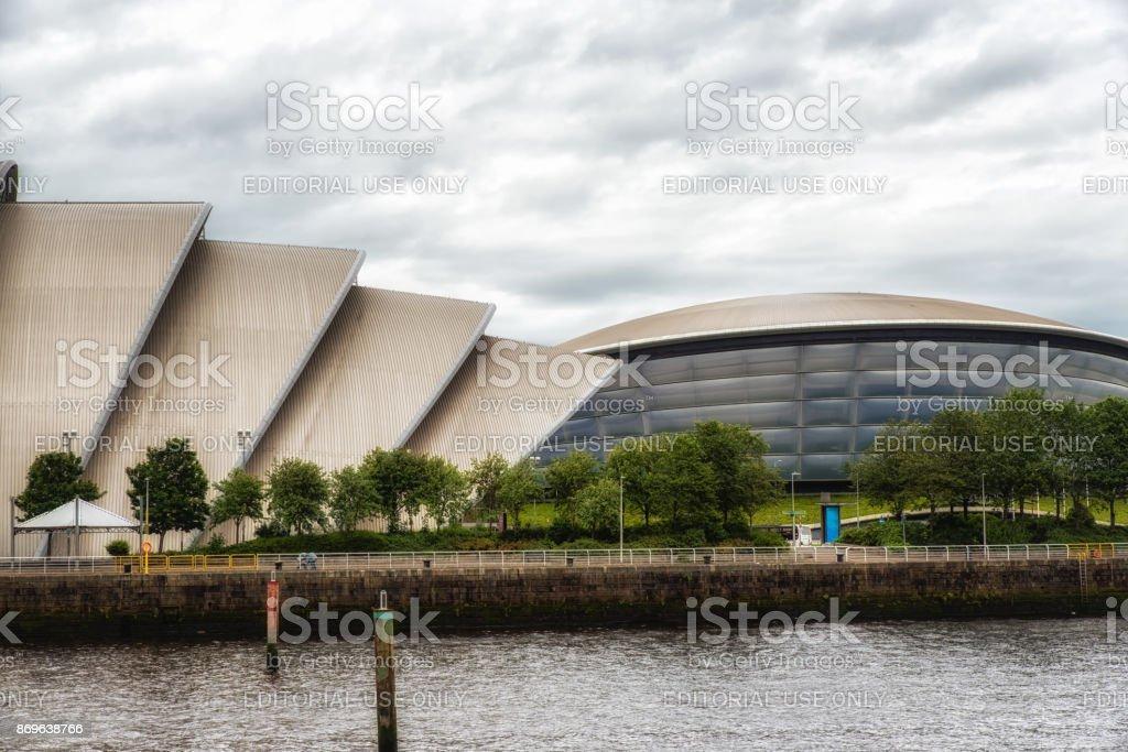 Glasgow Auditorium and SSE Hydro stock photo