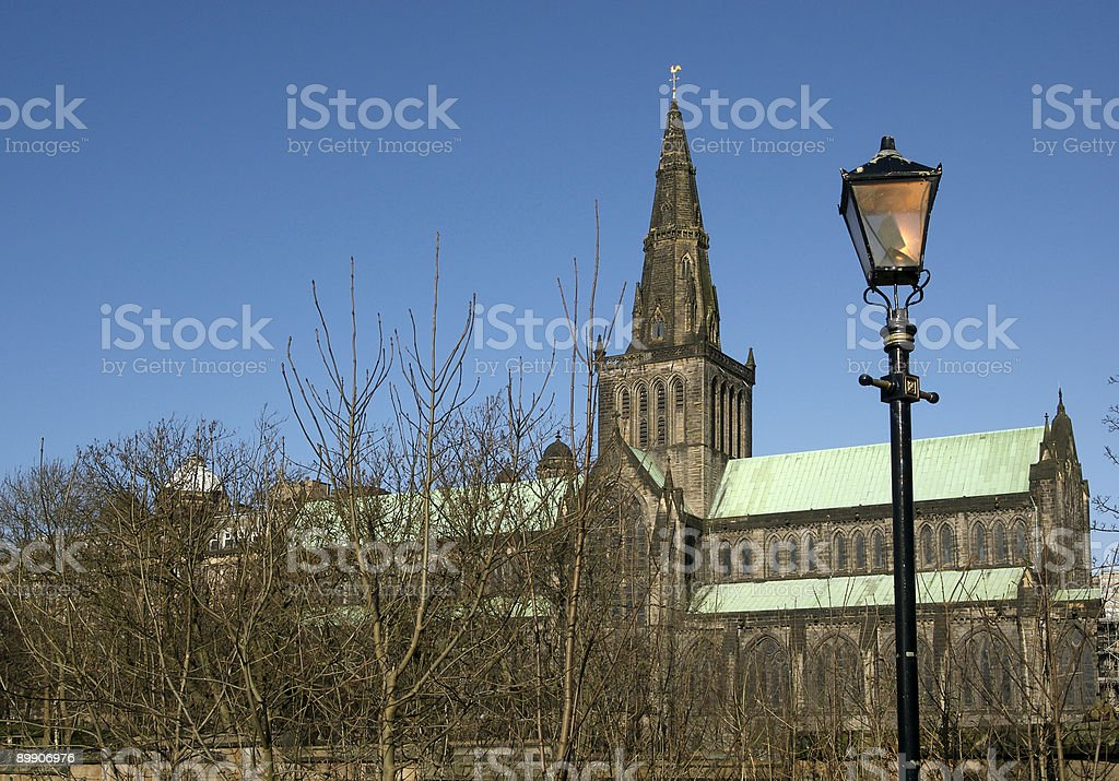 Glasgow Cathedral 2 royalty-free stock photo
