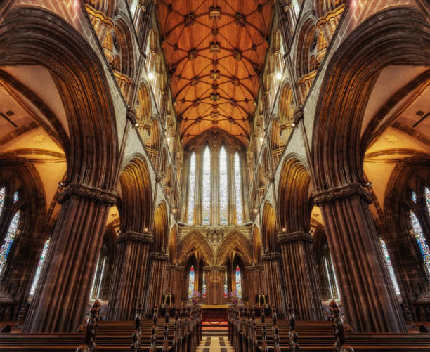Glasgow Cathedral  2015 stock photo