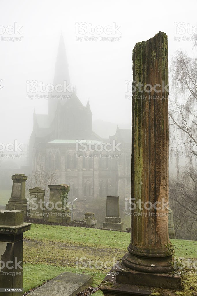 Glasgow Cathedral And Necropolis royalty-free stock photo