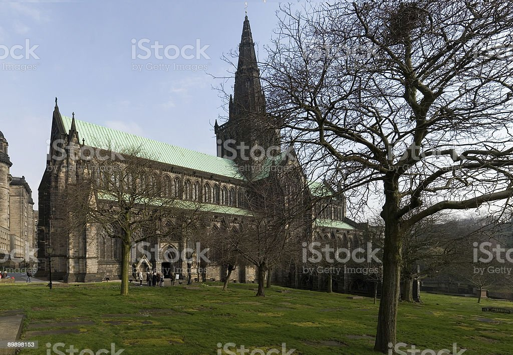 Glasgow Cathedral royalty-free stock photo