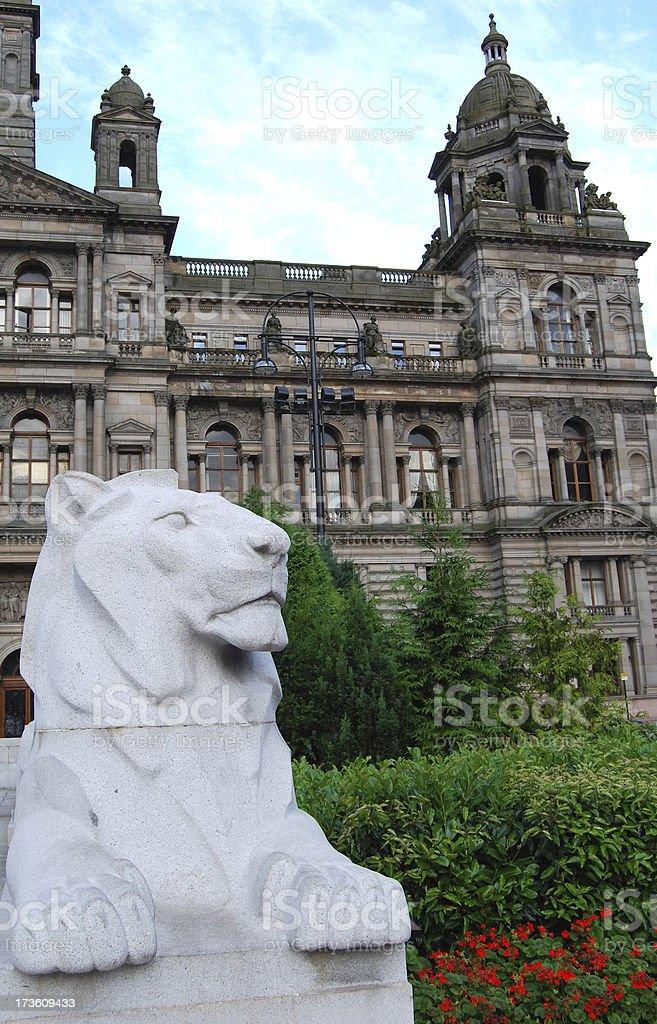 Glasgow City Chambers stock photo