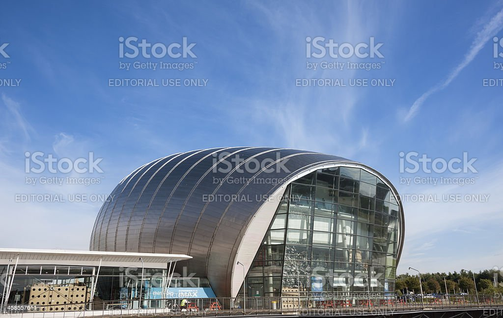 Glasgow IMAX Cinema stock photo